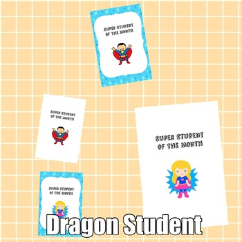 Brag Tags: Super Student Set