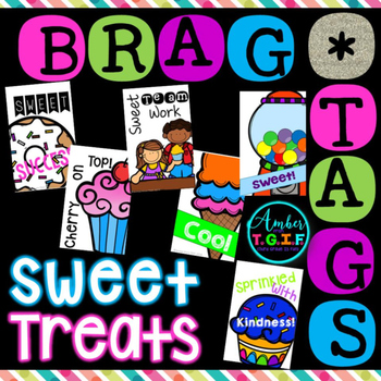 Brag Tags Sweet Treats