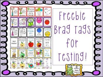 Brag Tags - Testing Tags