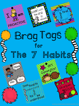 Brag Tags-The 7 Habits