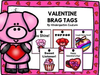 Brag Tags Valentine -FREE