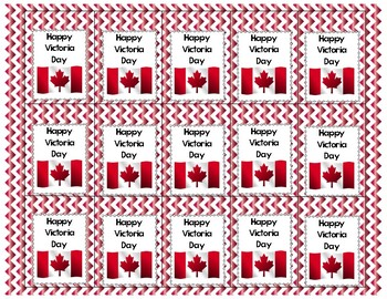Brag Tags Victoria Day (Canada) FREEBIE