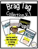 Brag Tags Vol. 1 | Teacher or Therapist Use