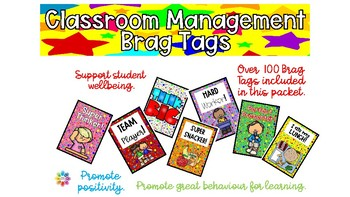 Brag Tags Volume 1 - Classroom Management Edition