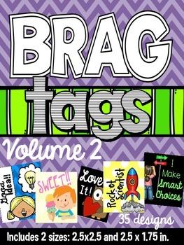 Brag Tags Volume 2