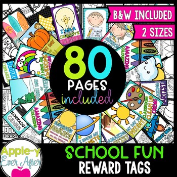 Brag Tags - School Fun Mini Set