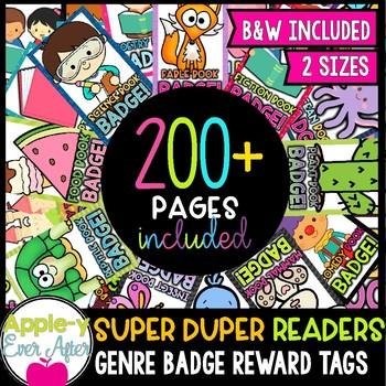 Brag Tags - Volume 4 - SUPER DUPER READERS PACK