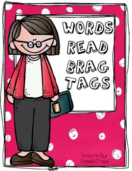 Brag Tags for 500-20,000 Words Read