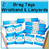 Printable Brag Tags - Wristbands & Lanyards (Editable)