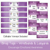 Brag Tags - Wristbands & Lanyards for rewarding kindness a