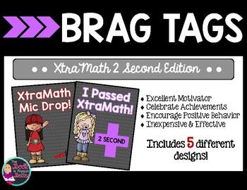 Brag Tags: XtraMath 2 Second Edition