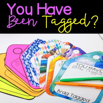 Reward Tags / You Have Been Tagged!