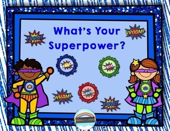 Brag Tags and Badges: What's Your Superpower?