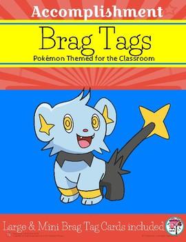 Brag Tags for Accomplishment Pokémon Themed