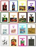 Mini Awards for Art - Colors, Shapes, Famous Paintings - K, 1st, ESL (3 pages)
