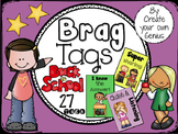 Brag Tags for Back to School