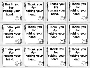 Brag Tags Black and White Ink Friendly