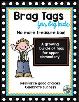 Brag Tags for Big Kids