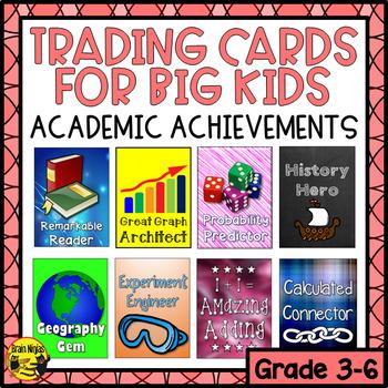 Brag Tags for Big Kids- Academic Achievements