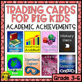 Brag Tags for Big Kids- Academic Achievements