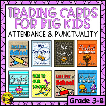 Brag Tags for Big Kids- Attendance and Punctuality