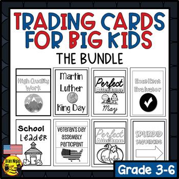 Brag Tags for Big Kids- BUNDLE (American Version) (Ink Saver)