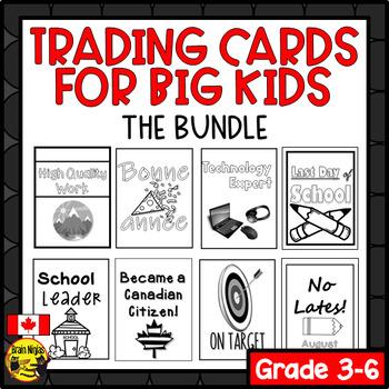 Brag Tags for Big Kids- BUNDLE (Canadian Version) (Ink Saver)