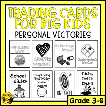 Brag Tags for Big Kids- Personal Victories (Ink Saver)