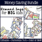 Brag Tags for Big Kids: Editable Reward Tag Bundle!