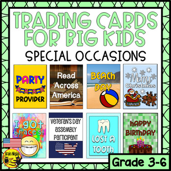 Brag Tags for Big Kids- Special Occasions (American Edition)