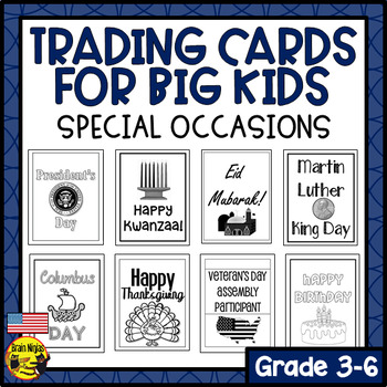Brag Tags for Big Kids- Special Occasions (American Edition) (Ink Saver)
