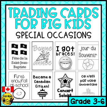 Brag Tags for Big Kids- Special Occasions (Canadian Edition) (Ink Saver)