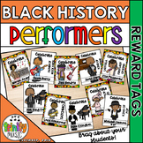 Reward Tags for Black History Month (Music Performers)