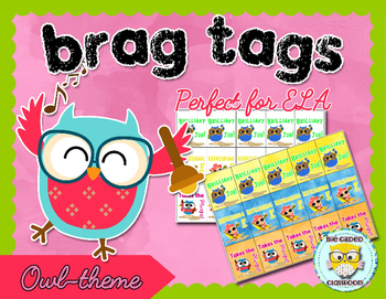 Brag Tags for Reading and Writing