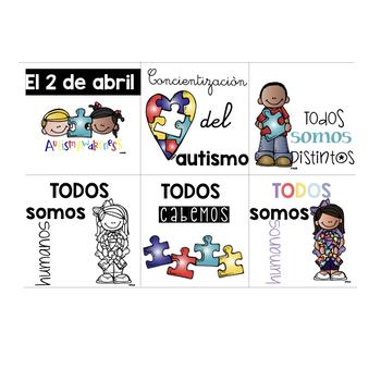 Brag Tags for Concientización del Autismo