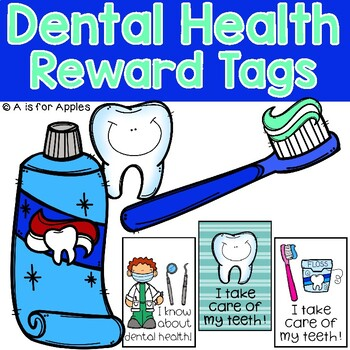 Brag Tags for Dental Health {FREEBIE}