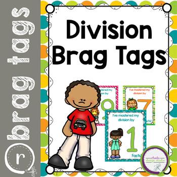 Brag Tags for Division Behavior Rewards