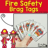 Brag Tags for Fire Safety {Behavior Incentive}