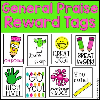 Brag Tags for General Praise