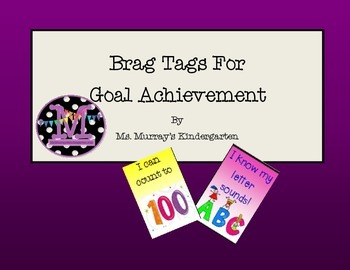 Brag Tags for Goal Achievement