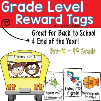 Brag Tags for Grade Levels {Back to School & End of the Year}