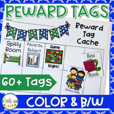 Reward Tags for Home/School Connections (Year Long Weekend Challenges)