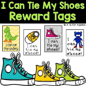 Brag Tags for I Can Tie My Shoes {Behavior Incentive} {FREEBIE}