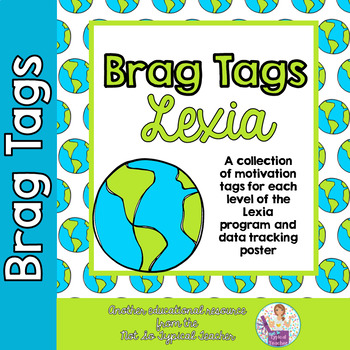 Brag Tags for Lexia Levels