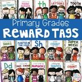 Reward Tags for PreK, Kindergarten and First Grade