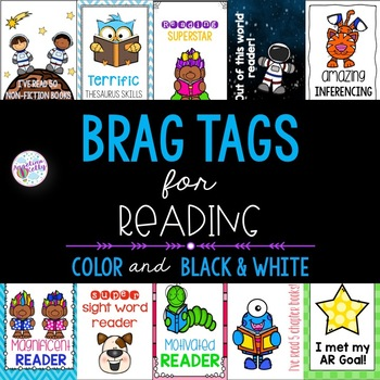 Brag Tags for Reading