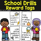 Reward Tags for School Drills