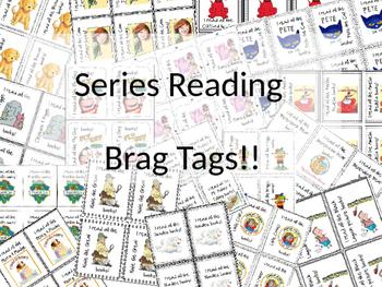 Brag Tags!!  for Series Reading  ((Growing Bundle))
