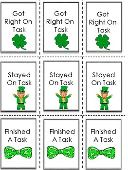 Brag Tags for St. Patrick's Day