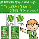 Brag Tags for St. Patrick's Day {FREEBIE}